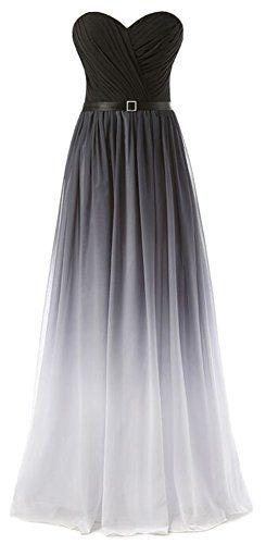 Eudolah New Gradient Colorful Sexy Ombre Chiffon Prom Dress Evening Dresses Gray White Size 4 Eudolah http://www.amazon.com/dp/B019O736EQ/ref=cm_sw_r_pi_dp_3hyTwb1RCV27H