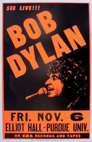Bob Dylan 11/6/81 Elliot Hall Of Music, Purdue University, West