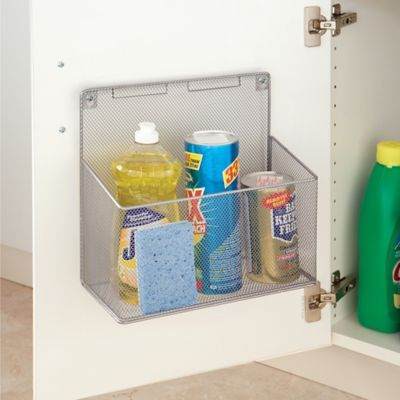 Organize Any Cabinet With This Convenient Org Metal Mesh Kitchen