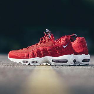 9c9f82fa60d9 Découvrez les Sneakers Nike Air max 95 tt Rouge rouge Synthétique pour Homme.  Nouvelle collection Eté 2019. Profitez des dernières tendances de sneaker  au ...