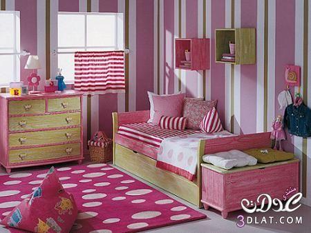 الوان دهانات 2019 جديده دهانات حوائط مقلمه روعه دهانات حوائط 2019 فخمه Home Decor Bedroom Girl Room Home Decor