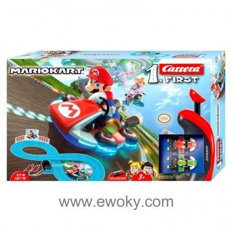 Https Www Ewoky Com En 66578 Circuito Carrera First Mario Kart Nintendo Carrera Tienda Friki Munecos Figuras Funko Nintendo Mario Kart Mario Toys Mario Kart