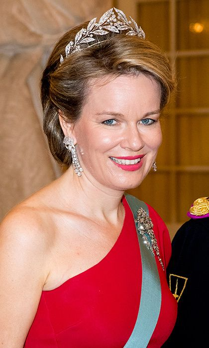 Crown Prince Frederik Of Denmark Holds Gala Banquet At