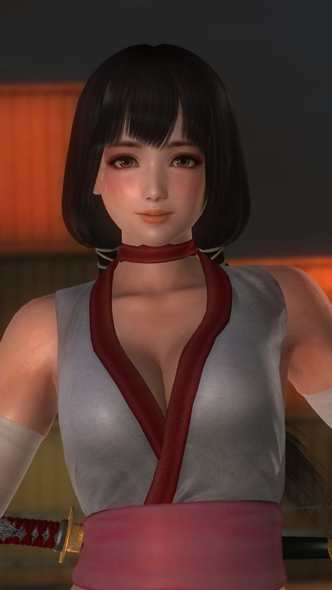 Naotora Immaculate White 021 by DOA5lrScreenShots.deviantart.com on @DeviantArt