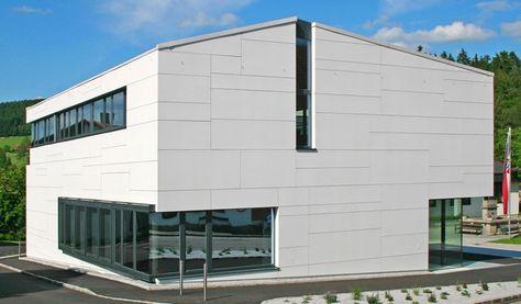 Hille Architekten hille architekten museum baumholder equitone facade materials