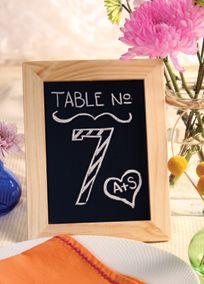 Chalkboard Frame with Easel Back, Style A91220 #davidsbridal #diyweddings