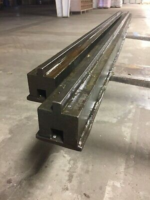 Sponsored Ebay Press Brake Bed Rails 10 Ft Long Press Brake Metal Working Tools Bed Rails