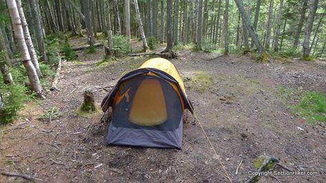 Eureka Solitaire 1P Tent Review | Tent reviews, Tent