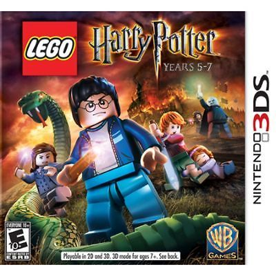 New Sealed Lego Harry Potter Years 5 7 Ds Game Ds Dsi 2ds 3ds