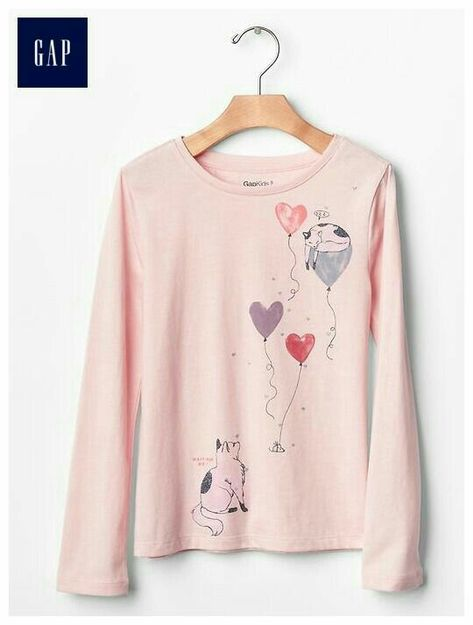 GYMBOREE FUN AT HEART IVORY w// PUPPIES A//O  Puppy Love L//S TEE 12 18 24 2 3 NWT