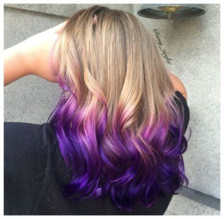 44 Ideas Hair Ombre Short Purple Blondes For 2019 Ombre Hair Blonde Dyed Blonde Hair Hair Dye Tips