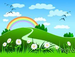 21 Fondos de paisajes de primavera