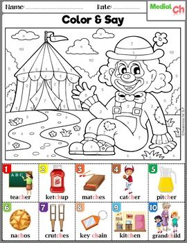 CH and SH Articulation Worksheets | Articulation Coloring ...