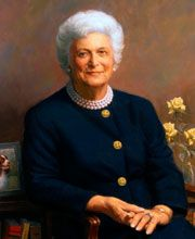 Barbara Bush was the 1st First Lady to write a memoir from her