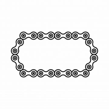Estilo De Esquema De Icono De Cadena De Bicicleta Bicicleta Cadena Icono Png Y Vector Para Descargar Gratis Pngtree Bicycle Chain Vector Icons Illustration Instagram Logo