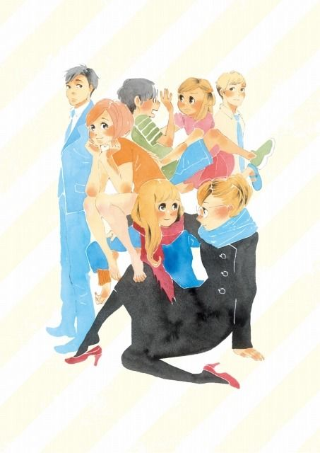 Dounika Naru Hibi Happy Go Lucky Days Animasi Adaptasi Manga
