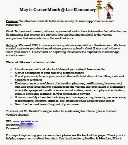 Career day invitation letter samples invitationjdi career day letter to 100 images how write a resignation expocarfo Images