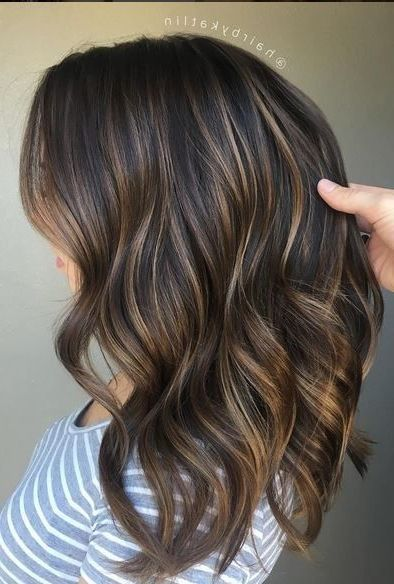 20 Hair Colors For Brunettes Going Gray Hardly Any Ladies Are Brought Into The World Blonde And Even Less Short Hair Balayage Balayage Hair Balayage Brunette