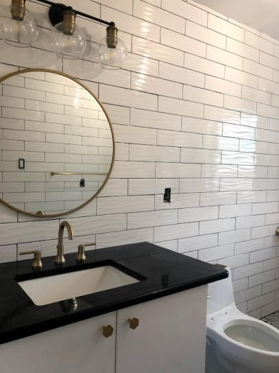 Daltile Restore Bright White 4 In X 16 In Ceramic Wavy Wall Tile 13 20 Sq Ft Case Re15416wavhd1p2 In 2020 With Images Wall Tiles Ceramic Wall Tiles