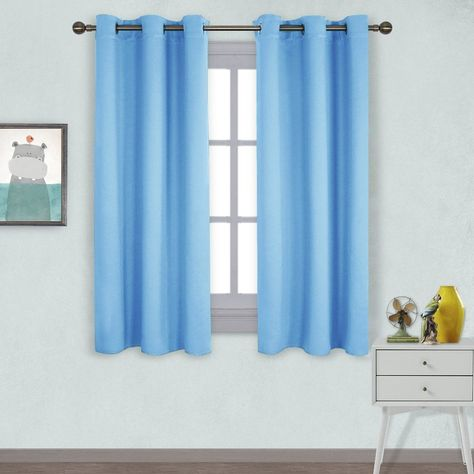 Blackout Blue Navy Blue Thermal Curtains Sale | Cool ...