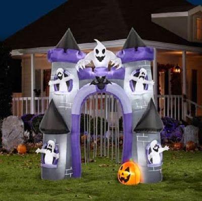 Halloween Shopaholic: Six Amazing Inflatable Haunted Houses