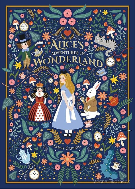Alice in Wonderland #poster #illustration #art #findyourthing