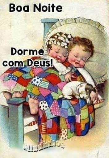 Boa Noite Dorme Com Deus E Os Anjinhos Boa Noite