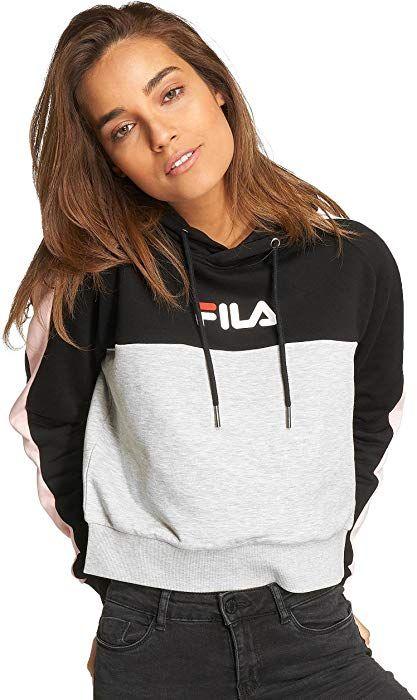 b5e9a1d42542 Fila Femme Hauts/Sweat Capuche Urban Line: Amazon.fr: Vêtements et  accessoires