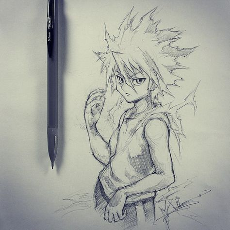 Artist Itsbirdy Hunter X Hunter Killua Hunter Tattoo