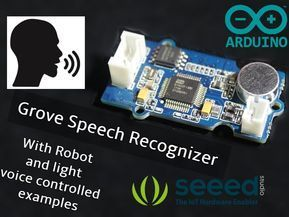 Interfacing Grove Speech Recognizer With Arduino Arduino Electronic Grove Interfacing Recognizer Speech Arduino Arduino Projects Robot