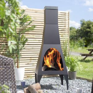 Extra Large Contemporary Modern Chiminea Fire Pits Outdoor Heating In 2020 Outdoor Heating Patio Heater Chiminea