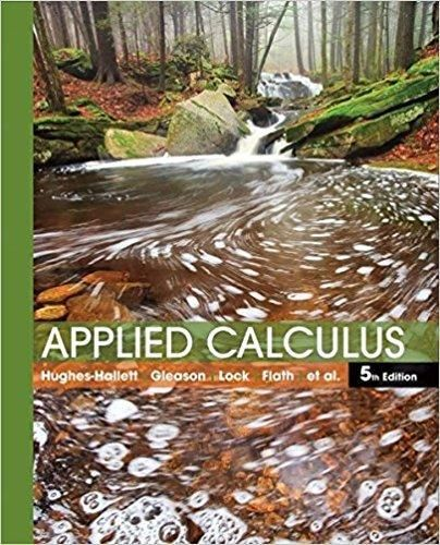 Applied Calculus 5th Edition Pdf Version Giao Dục