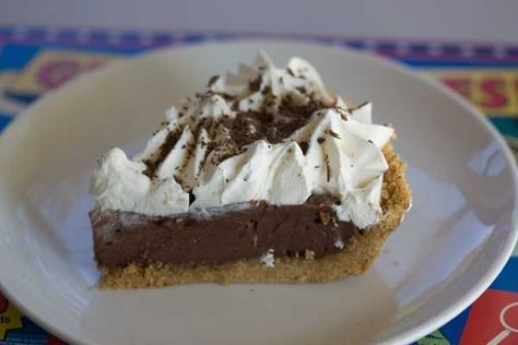 Chocolate Cream Pie With A No Bake Graham Crust Cookie Madness Recipe Chocolate Cream Pie Chocolate Silk Pie Chocolate Pies