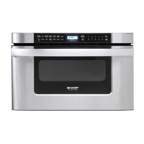 Sharp Kb6524p Microwave Drawer Built