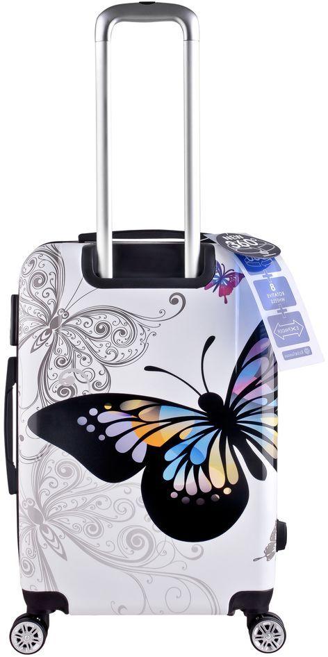 حقيبة سفر من ار اند اف ابيض 24 انش Rf 006 Luggage