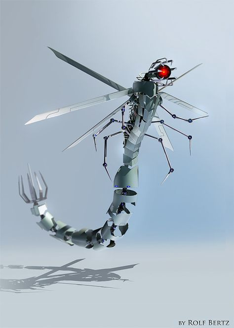 The UltraLohft Stinger micro-drone can deliver liquid agents or nanobots into its target.