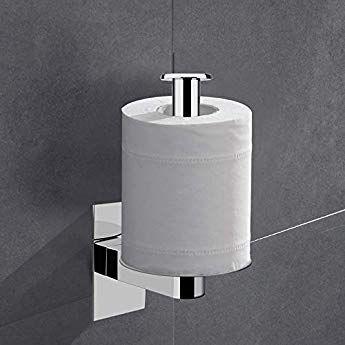 Lolypot Porte Papier Porte Rouleau Papier Toilette De Support Sans Percage 304 De Acier Inoxydable De 3m Autocollant De Porte Papier Accessoirs Wc Salles Ideias