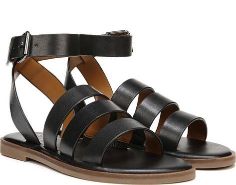 02b956d1065d LORRENZO - Double Buckle Gladiator Sandal