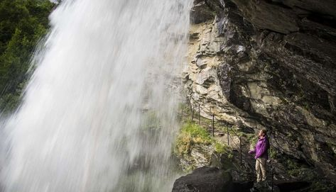 Hike to Storseterfossen (waterfall) - Hiking in Geiranger, Stranda