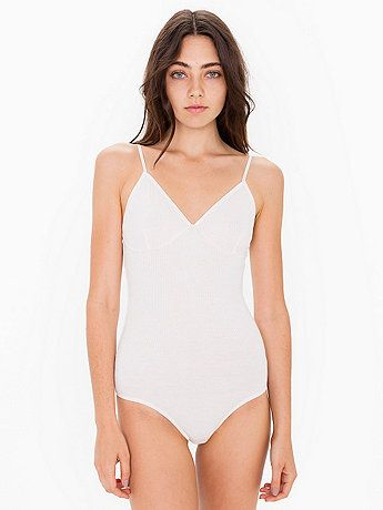 Soft rayon blend bodysuit #americanapparel #body #leotard