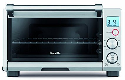 Breville Rm Bov650xl Compact 4 Slice Smart Oven With Element Iq