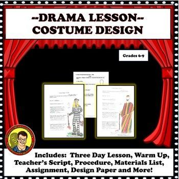 Distance Learning Drama Lesson Costume Design With Any Play