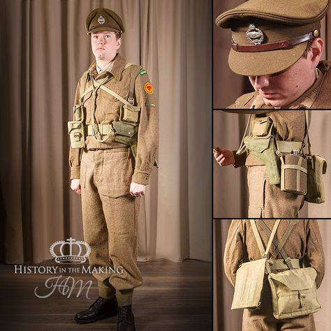 World War Two (1939-1945) British Army Uniforms Category - History in the Making