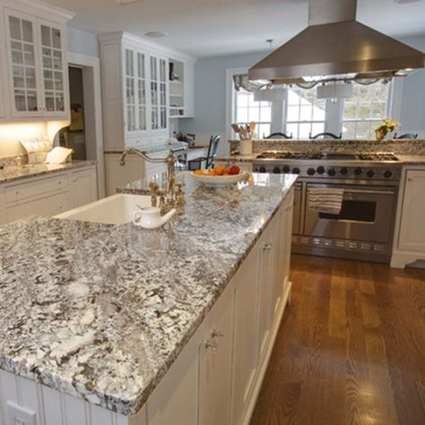 Bring harmony to your #culinary #creations with the #beauty and durability of #granite in the #kitchen.