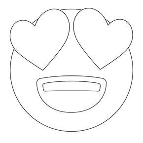 Emoji Coloring Pages Heart Eyes Emoji Coloring Sheets Coloring Pages Emoji Coloring Pages Heart Coloring Pages Coloring Pages
