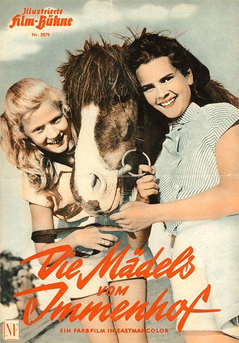 Die Mädels vom Immenhof (1955) | Kindheit, Schöne filme