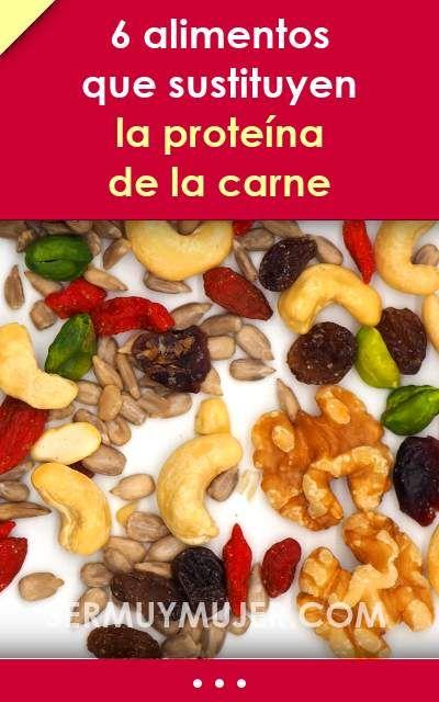 6 Alimentos Que Sustituyen La Proteína De La Carne Alimentos Proteinas Proteina Comidasana Sustituir Carne Dietas Food Breakfast Vegan