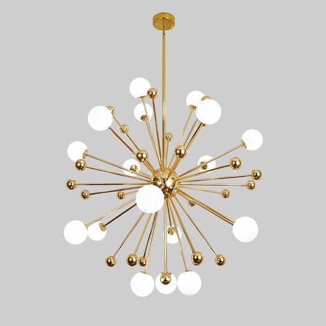 New Modern Sparks spherical LED Ceiling Light Pendant Lamp Fixture Chandelier