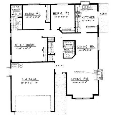 3 Bedroom Bungalow Designs Home Interior Design Bungalow House Floor Plans Modern Bungalow House Bungalow Floor Plans