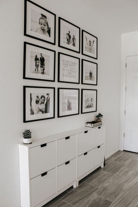 New Picture Frame Wall Ideas  #oldpictureframes